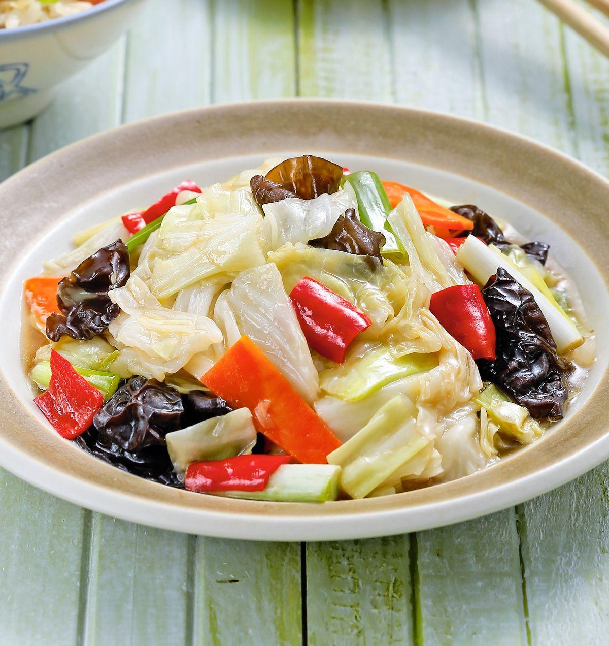 食譜:醋溜高麗菜(2)
