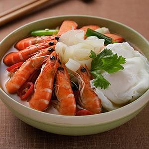 海鮮蒟蒻湯麵