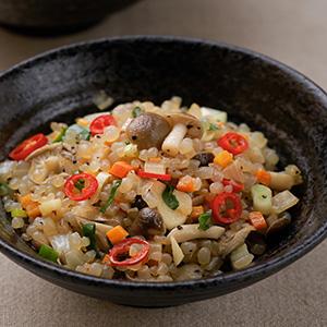 珍菇炒蒟蒻米