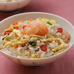 蒟蒻鮮蝦炒飯