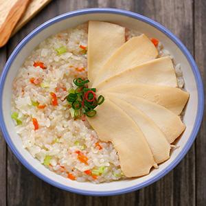 鮑魚蒟蒻鮮蔬粥
