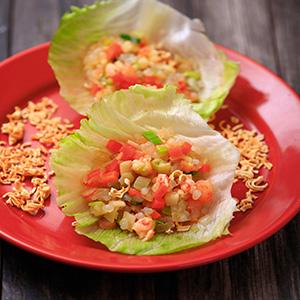 蒟蒻米炒蝦鬆