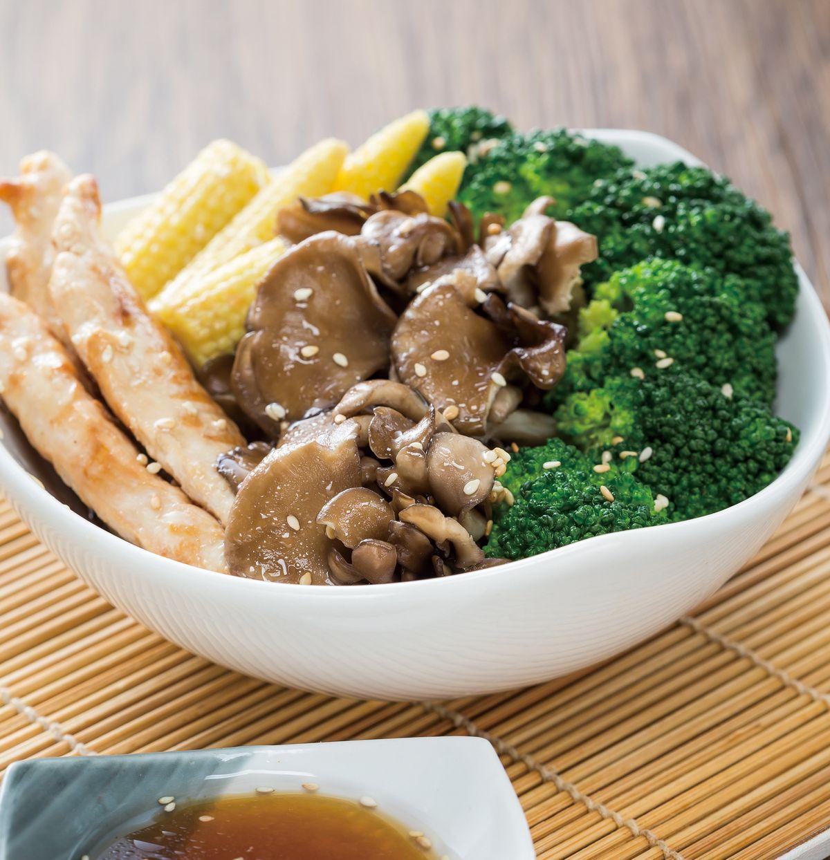 食譜:舞菇青花椰菜沙拉