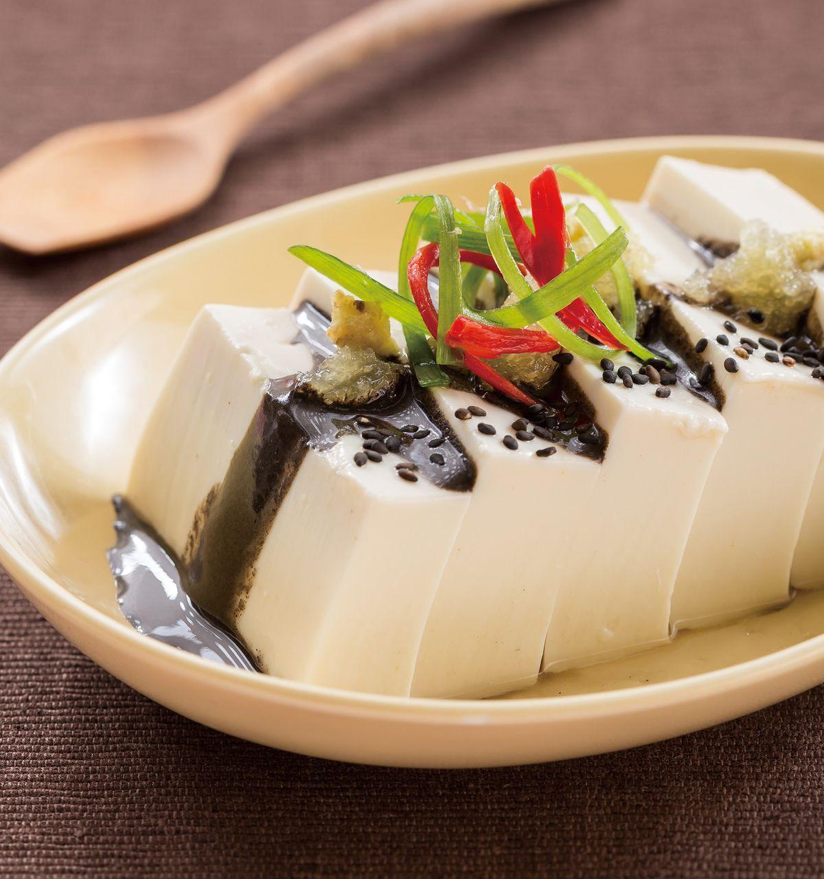食譜:黑芝麻豆腐