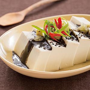 黑芝麻豆腐