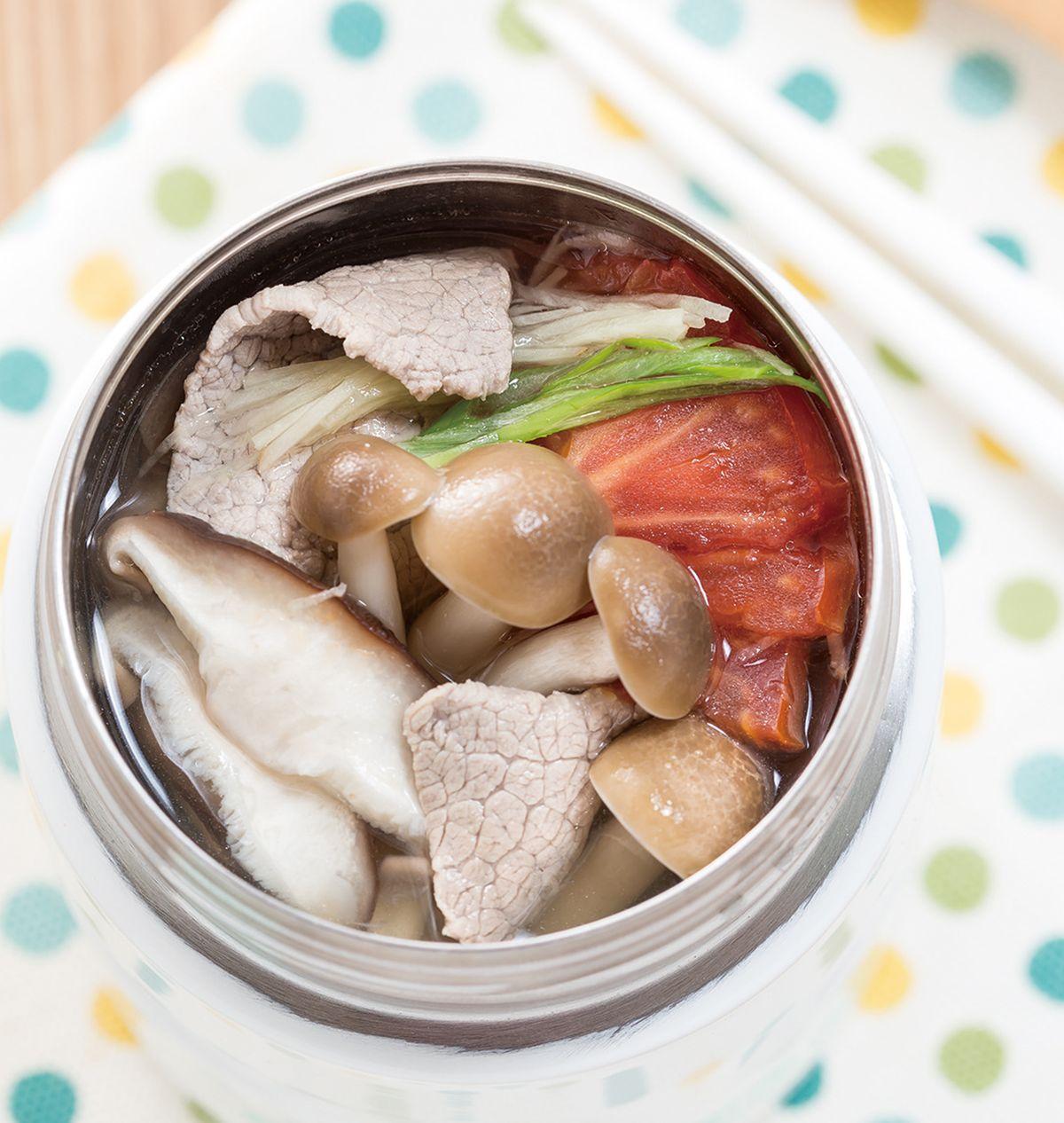 食譜:蕈菇牛肉湯