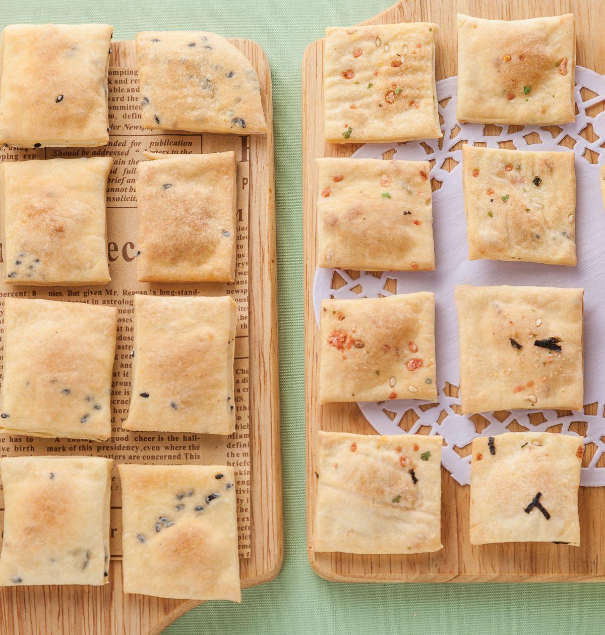 食譜:雙味脆餅乾