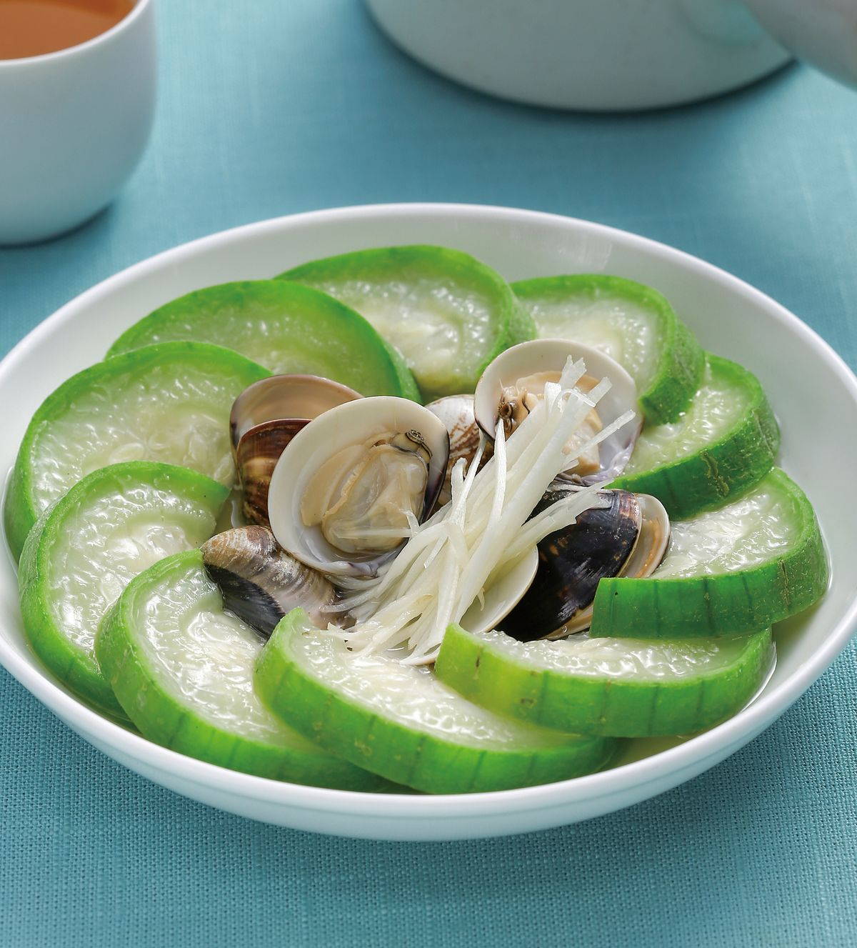 食譜:蛤蜊絲瓜(13)