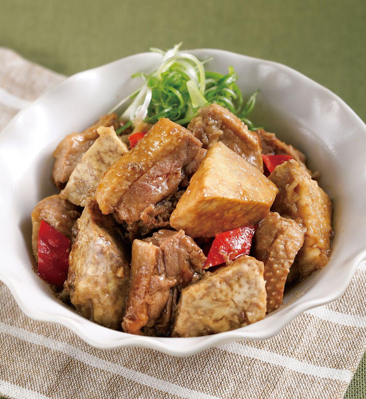 食譜:奶芋鴨肉