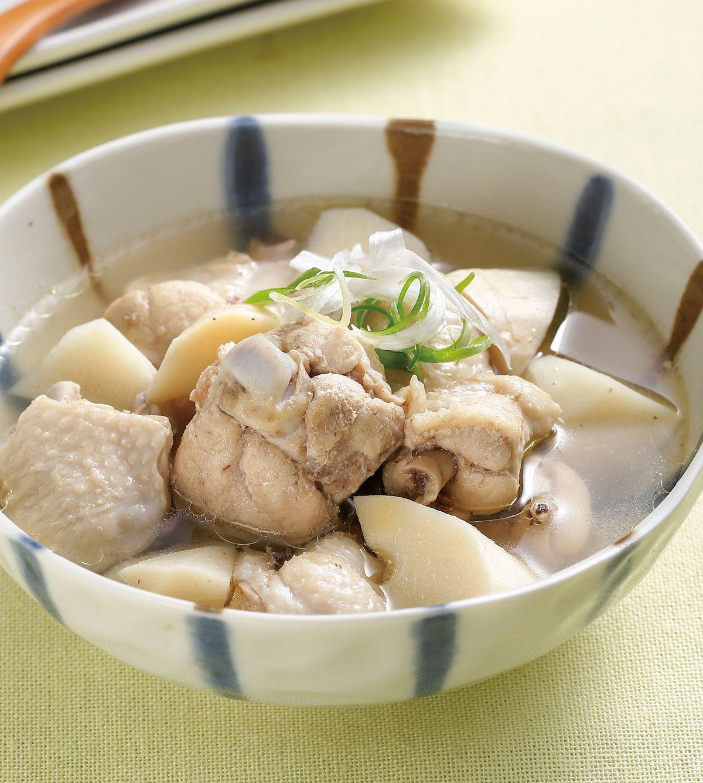 食譜:鮮筍雞湯