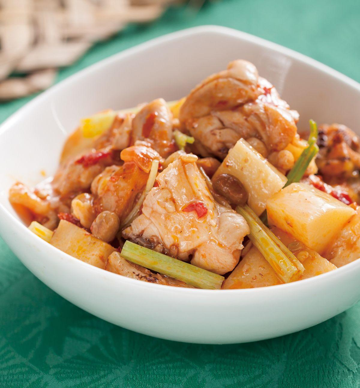 食譜:香辣豆瓣雞