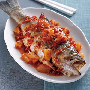 辣醬鳳梨魚(1)