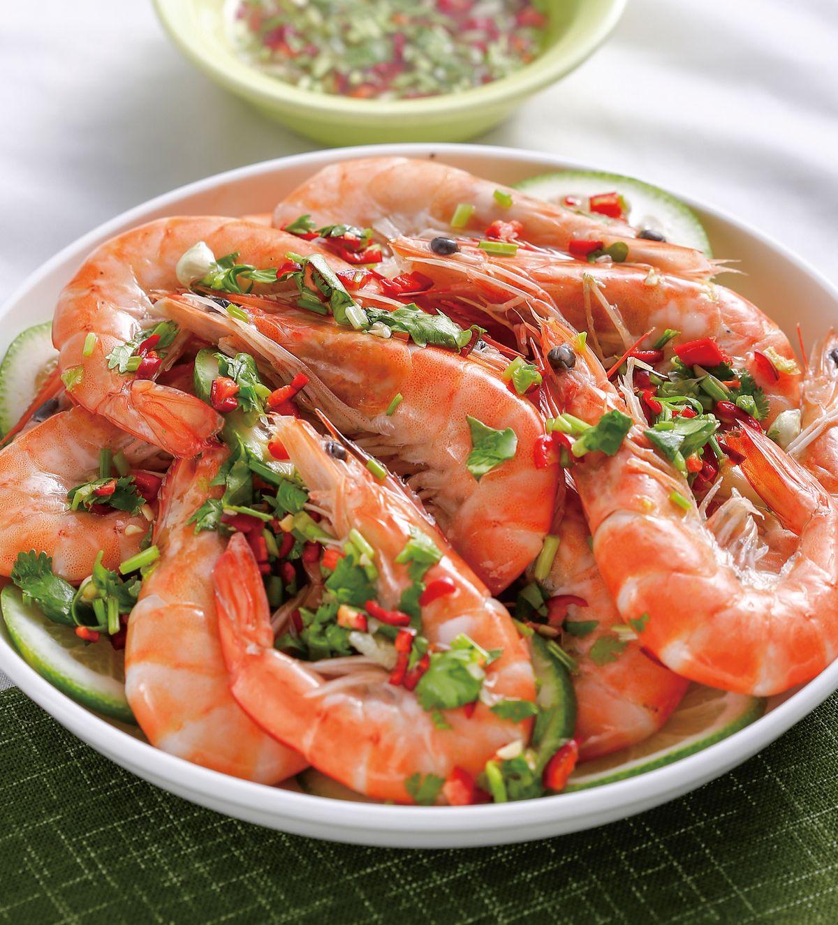 食譜:檸檬蝦(2)