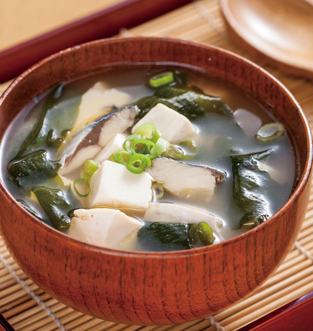 食譜:味噌豆腐湯(2)