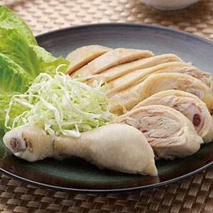 辣醬白斬雞