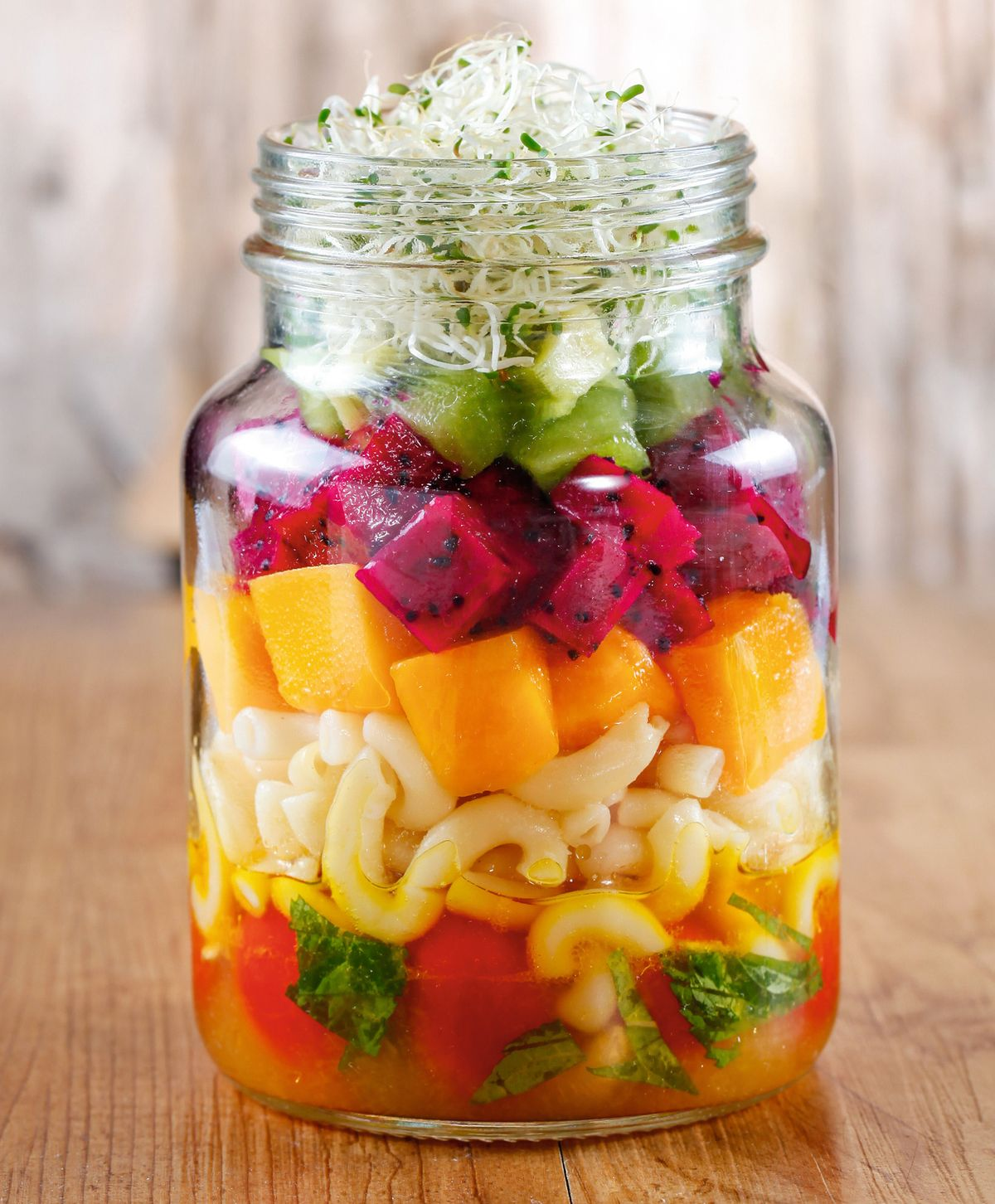 食譜:水果通心麵沙拉