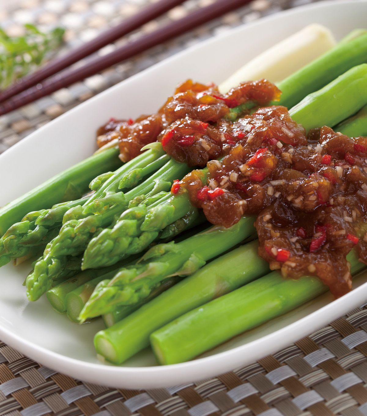 食譜:梅醬拌蘆筍