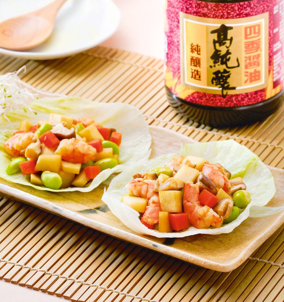 食譜:什蔬筍丁蝦鬆