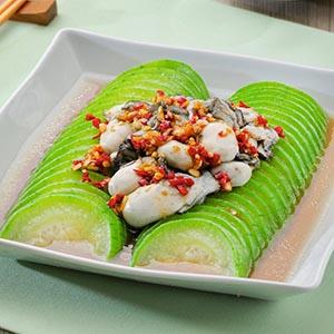 鮮釀鮮蚵絲瓜