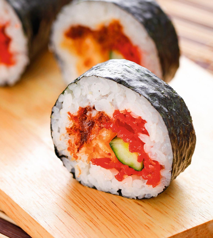 食譜:小黃瓜肉鬆卷