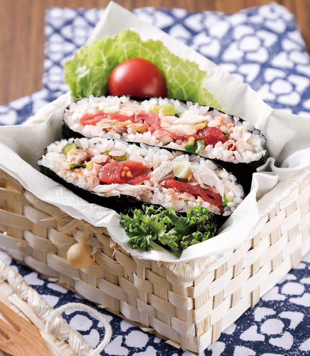 食譜:鹽漬鯖魚海苔飯糰