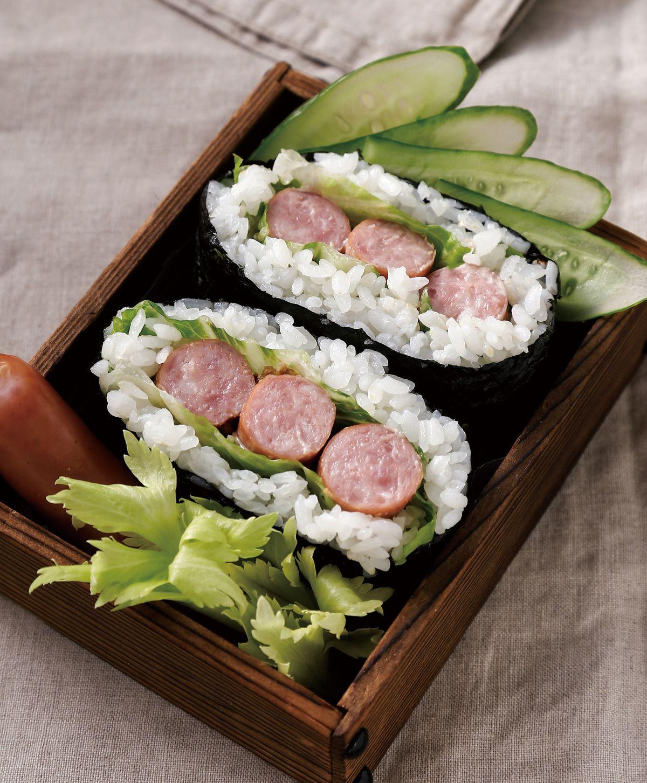 食譜:德式香腸海苔飯糰
