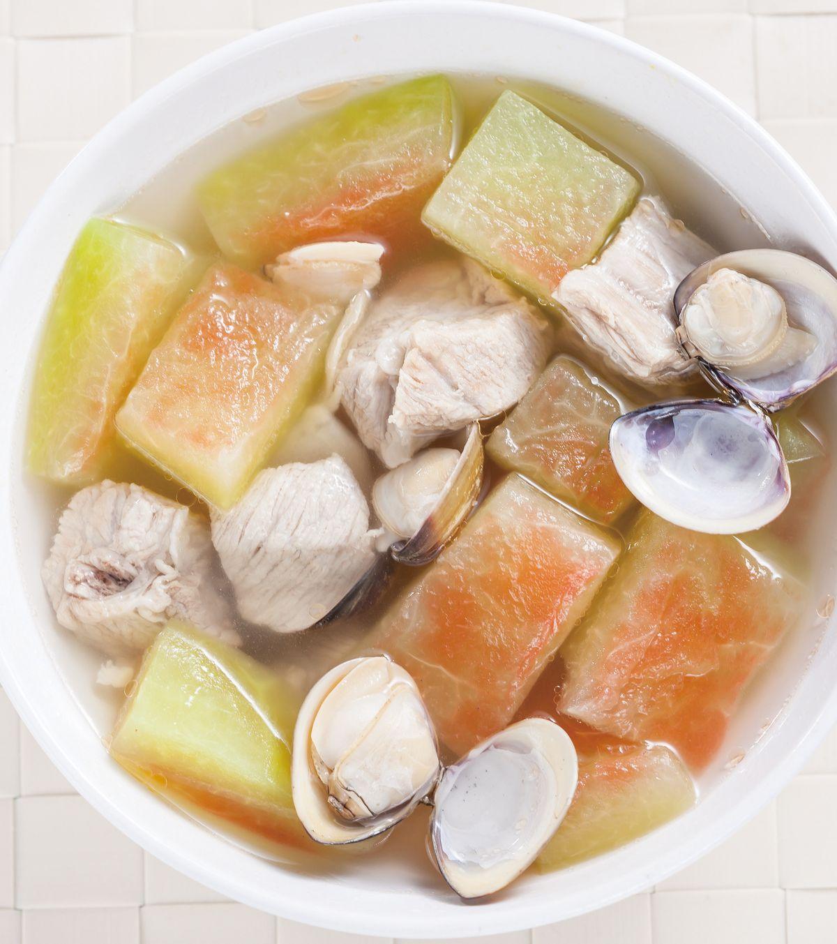 食譜:西瓜皮排骨湯