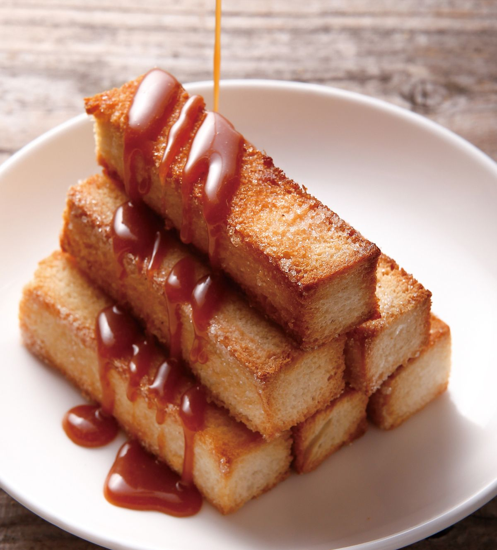 食譜:焦糖土司金條