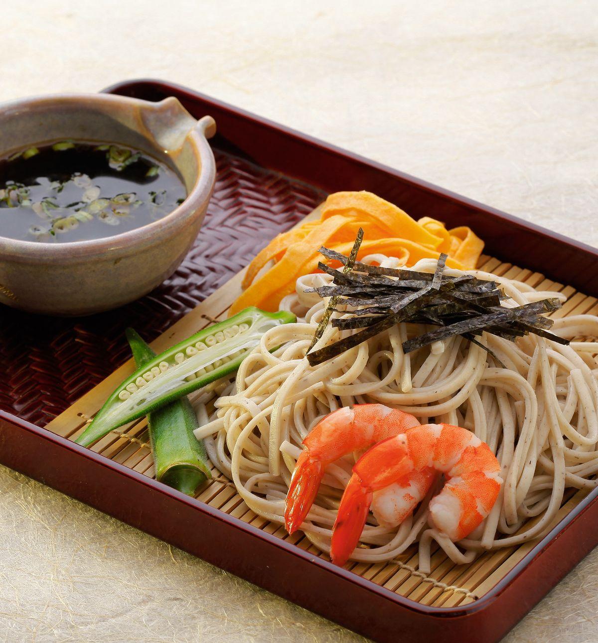 食譜:日式蕎麥涼麵