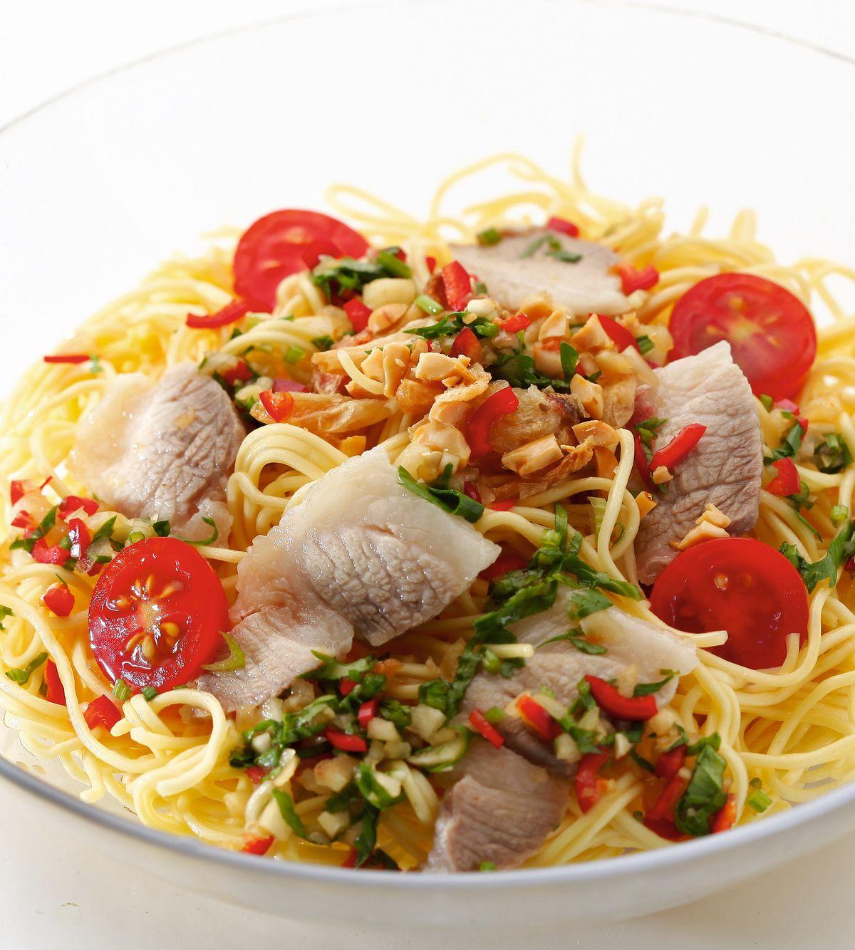 食譜:泰式酸辣涼麵(2)