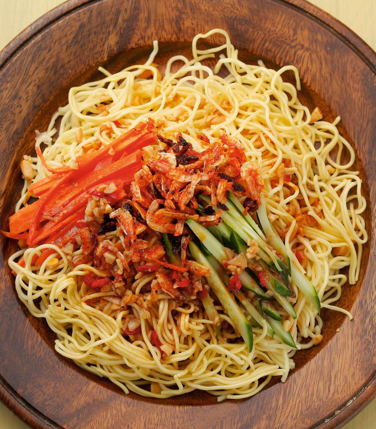 食譜:緬式涼麵(1)