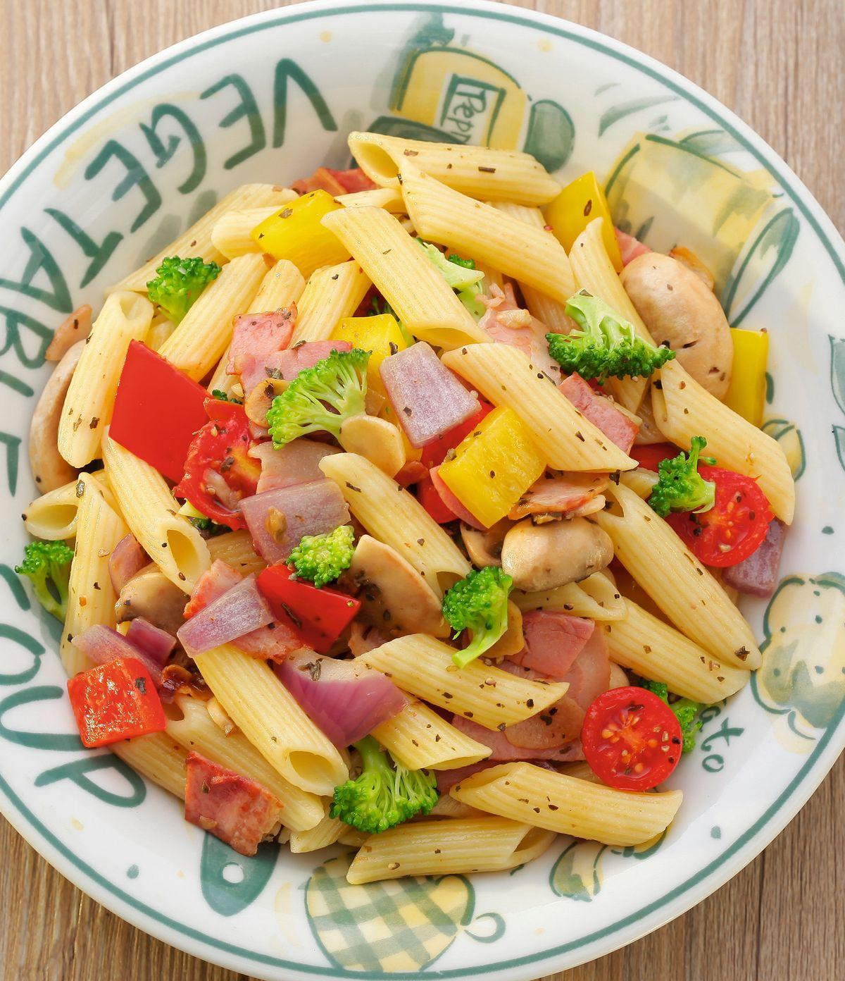 食譜:培根拌義大利麵