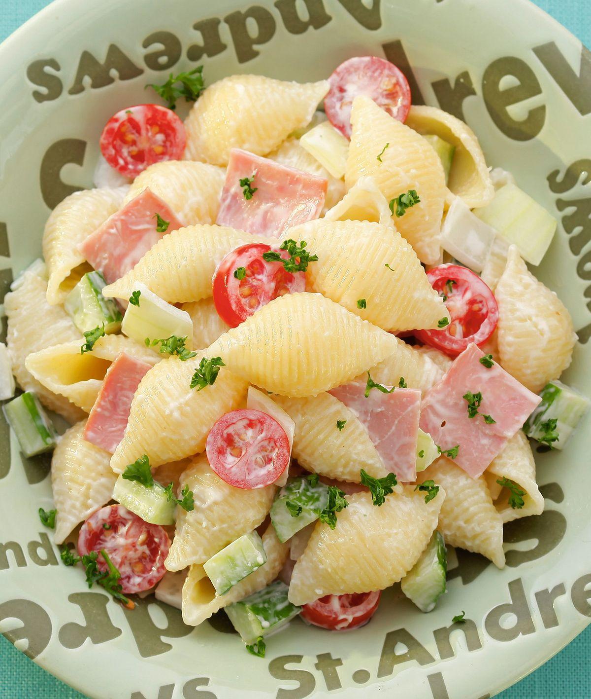 食譜:白醬沙拉義大利麵
