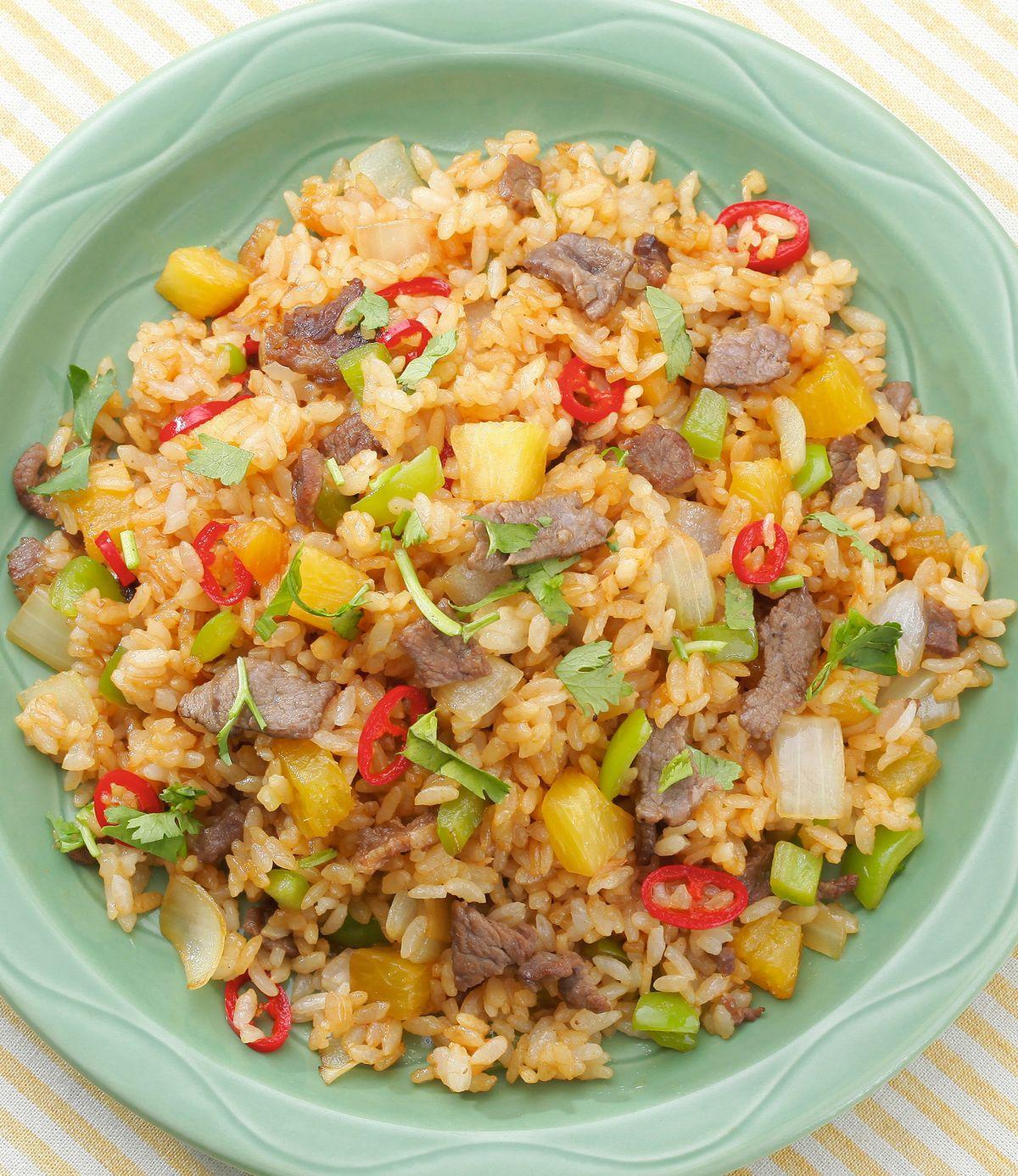 食譜:泰式鳳梨炒飯(3)