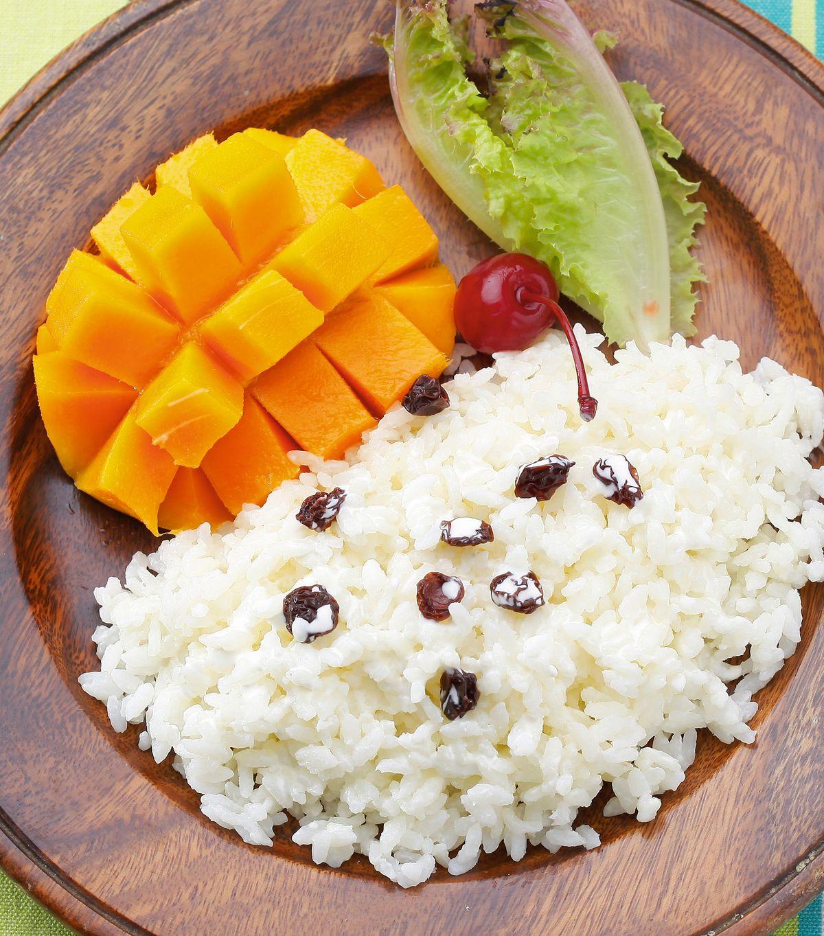 食譜:芒果椰汁飯
