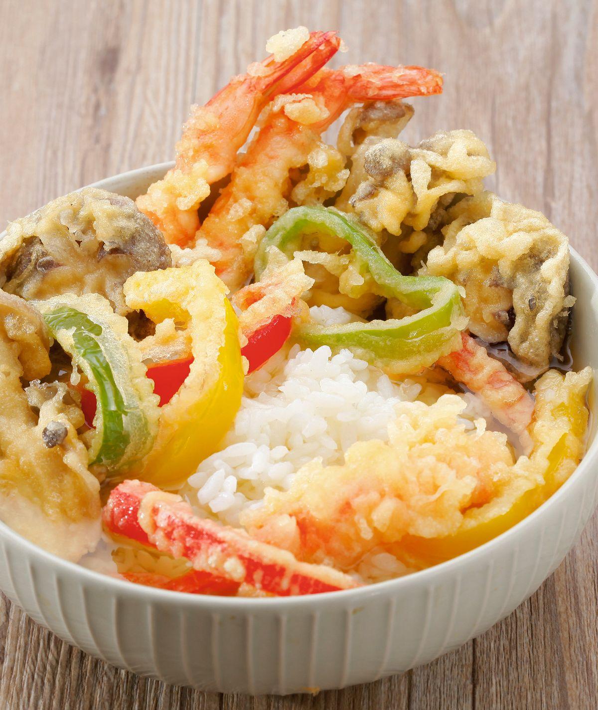 食譜:炸蝦茶泡飯