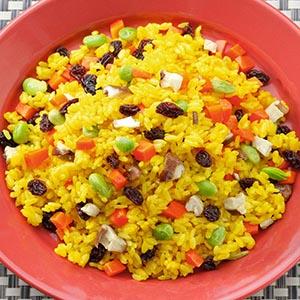 薑黃蔬菜飯