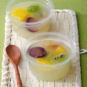 檸檬葡萄晶凍