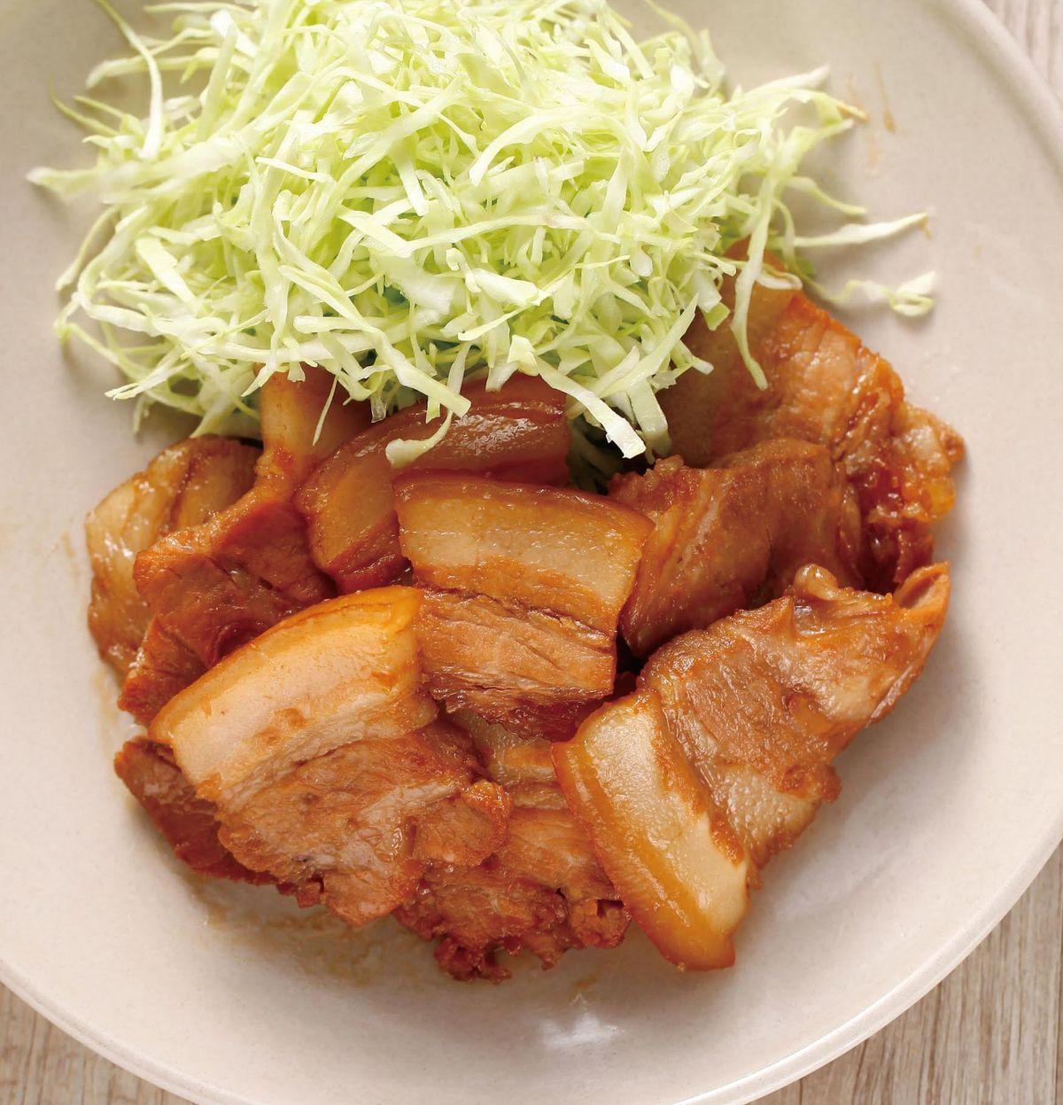食譜:燒五花肉片