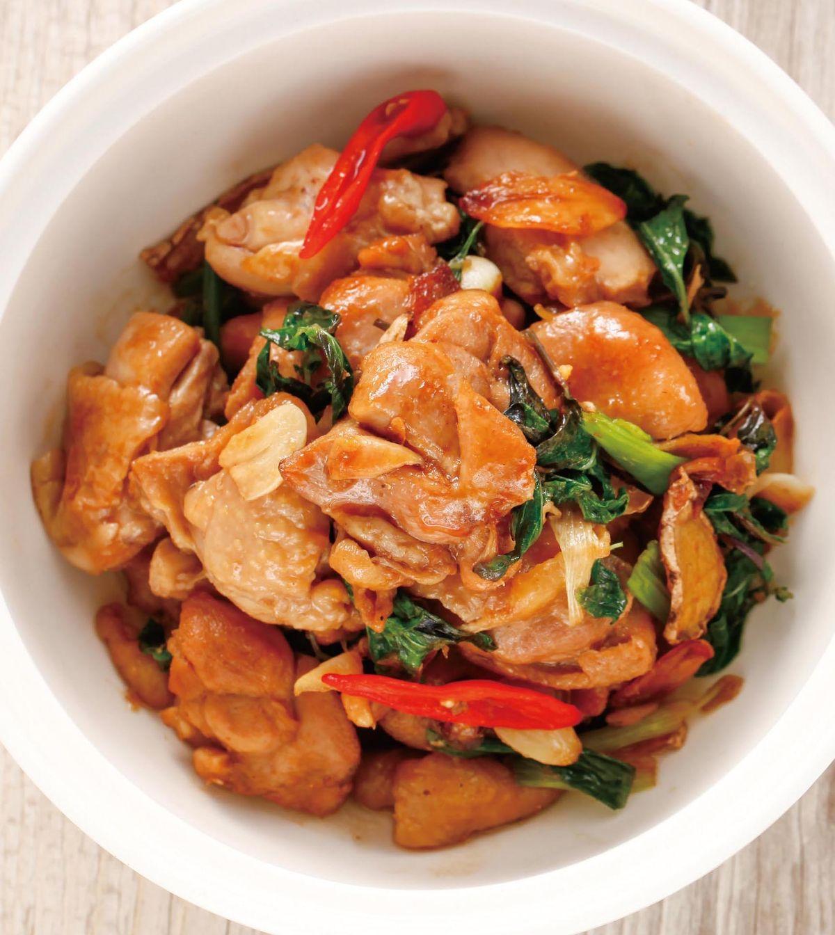 食譜:照燒塔香雞塊