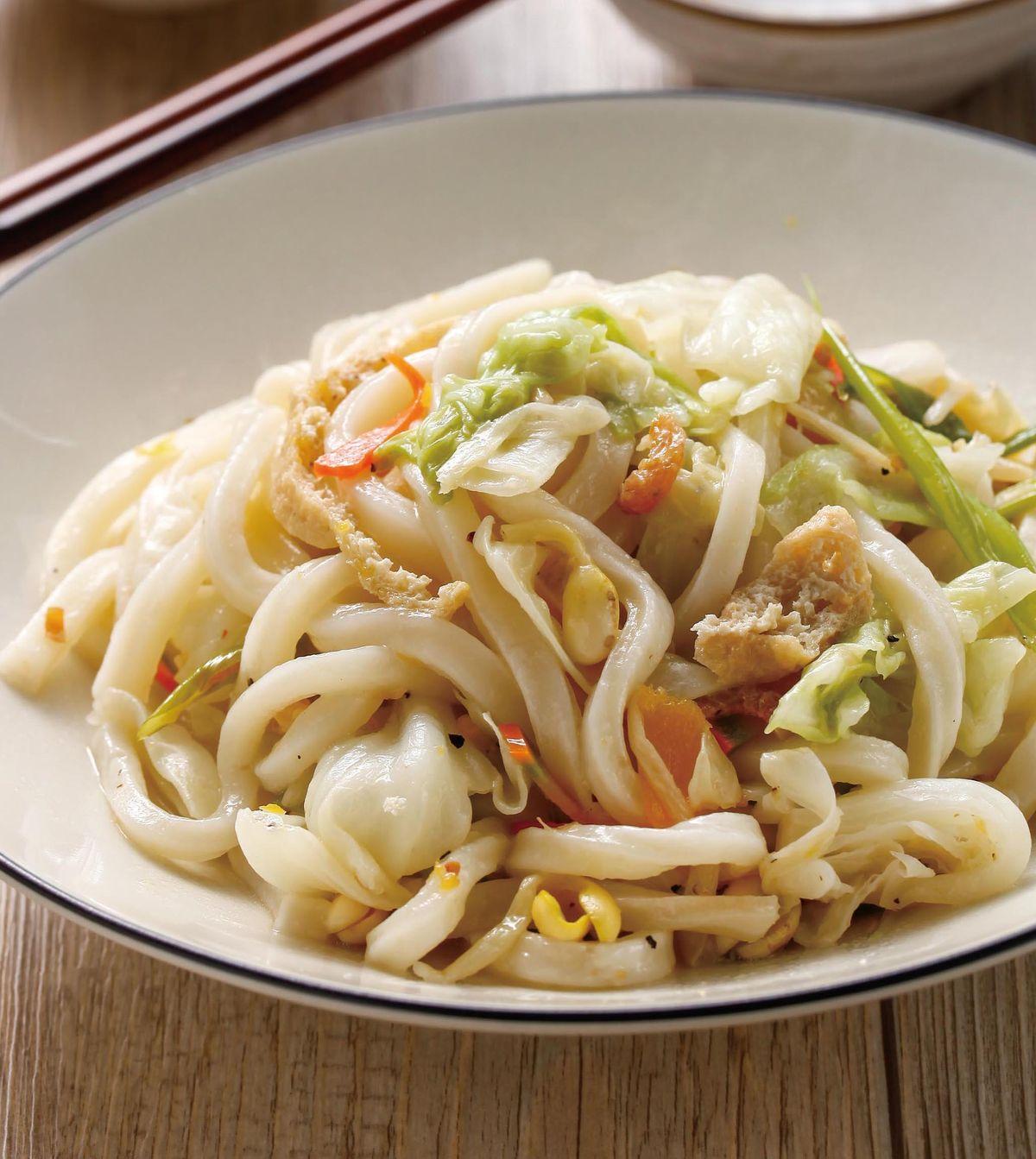 食譜:炒蔬菜烏龍麵