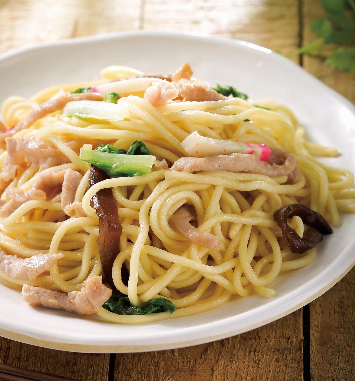 食譜:肉絲炒麵(1)