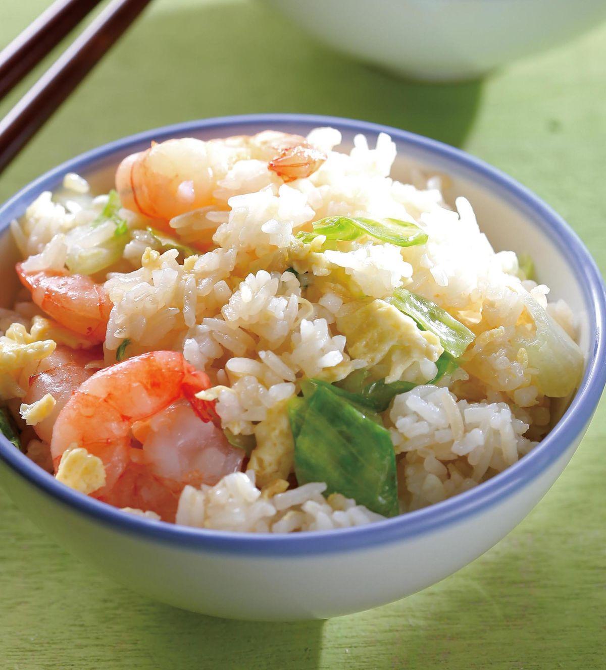 食譜:蝦仁炒飯(2)