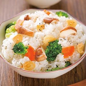 蒜香鮮菇炒飯