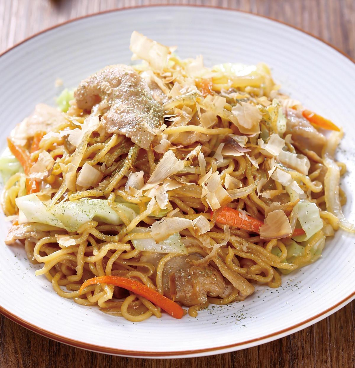 食譜:日式炒麵