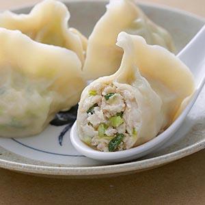 韭黃鮮魚餃