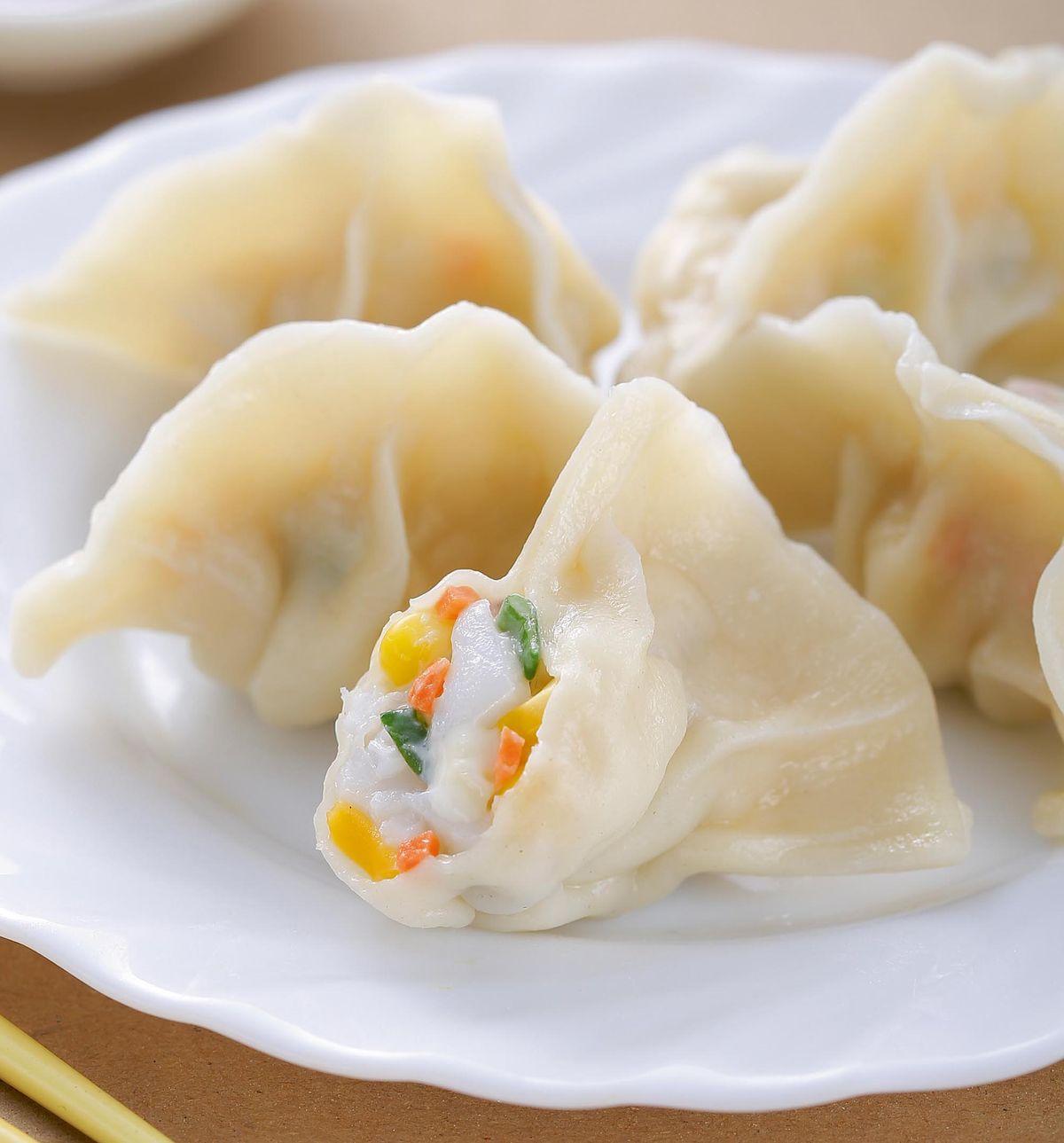 食譜:起司花枝餃