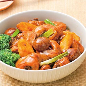栗子淮山燒雞