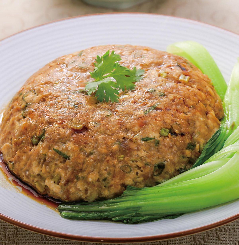 食譜:青蔥蒸肉豆腐