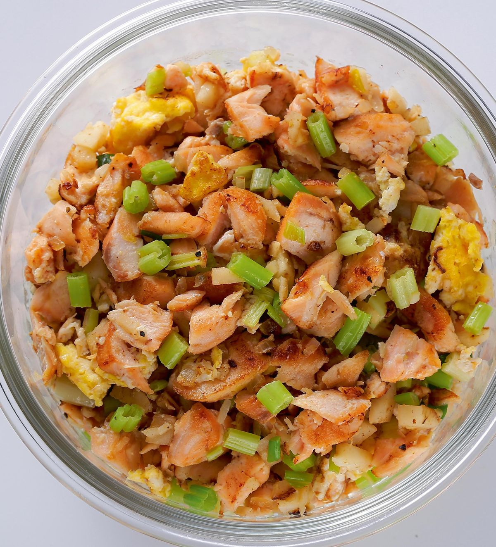 食譜:炒鮭魚鬆